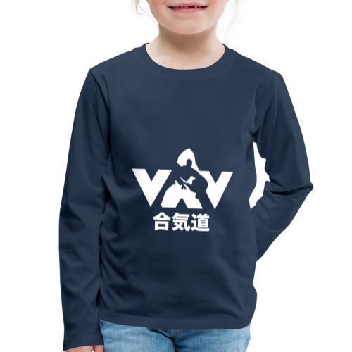 Aikido - Kinderen Premium shirt met lange mouwen