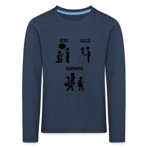 4 - Maglietta Premium a manica lunga per bambini