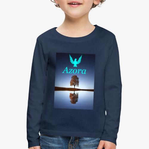Azora movement - Kinder Premium Langarmshirt