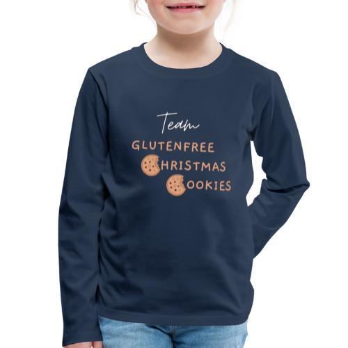 Gluten free christmas - Kinder Premium Langarmshirt