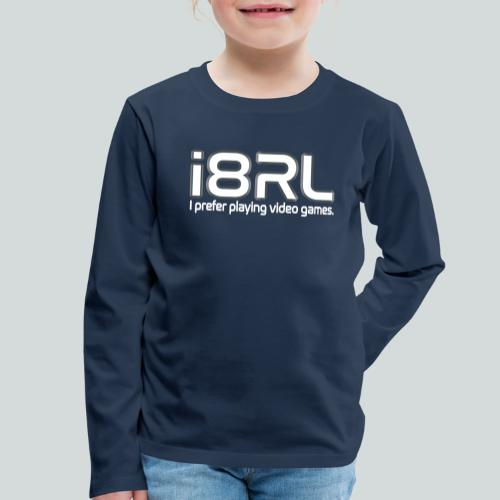 i8RL - I prefer playing video games. - T-shirt manches longues Premium Enfant