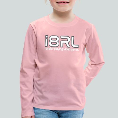 i8RL - I prefer playing video games. - T-shirt manches longues Premium Enfant