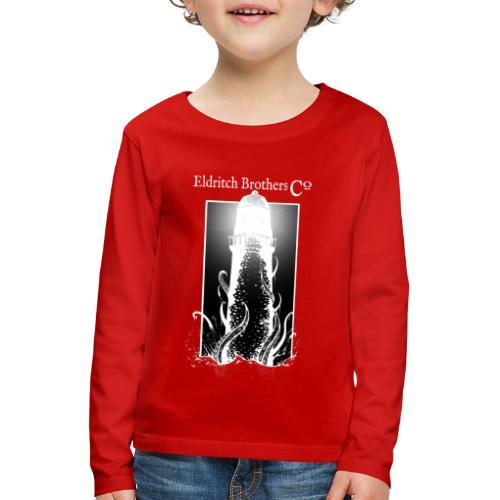 Eldrtich Lighthouse - Lasten premium pitkähihainen t-paita