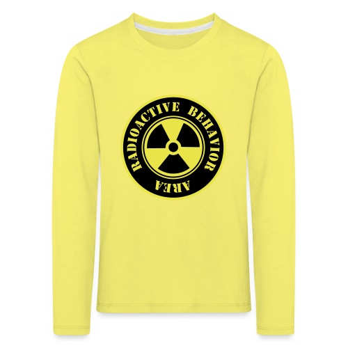 Radioactive Behavior - Camiseta de manga larga premium niño
