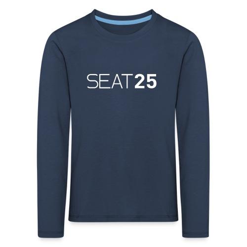 Seat25 Logo Light - Kids' Premium Longsleeve Shirt