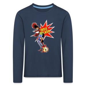 Indie Splash - Kinder Premium Langarmshirt