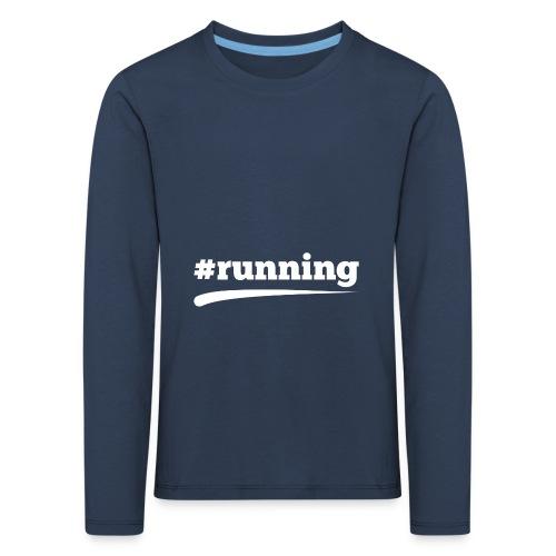 #RUNNING - Kinder Premium Langarmshirt