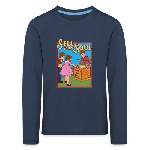 Sell your soul - Verkauf Deine Seele - Kinder Premium Langarmshirt