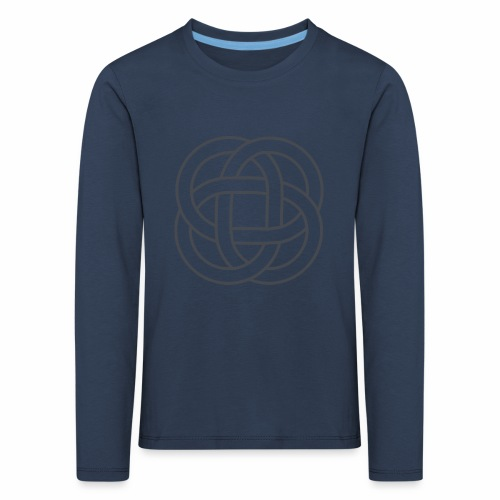 SIMBOLO CELTA SIN FONDO 1 - Camiseta de manga larga premium niño