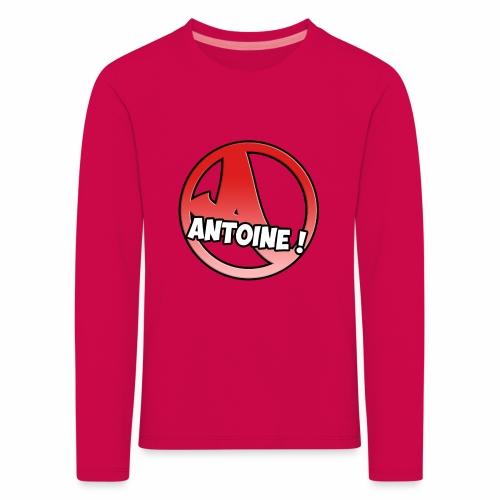 Le Logo Antoine ! - T-shirt manches longues Premium Enfant
