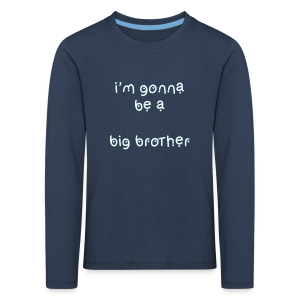 bigbrother Collection - Premium langermet T-skjorte for barn