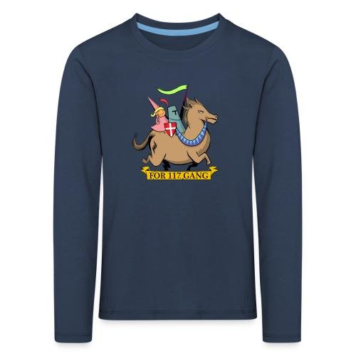 117 Shop - Børne premium T-shirt med lange ærmer