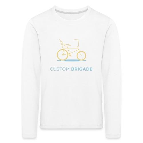 flatvelo - T-shirt manches longues Premium Enfant