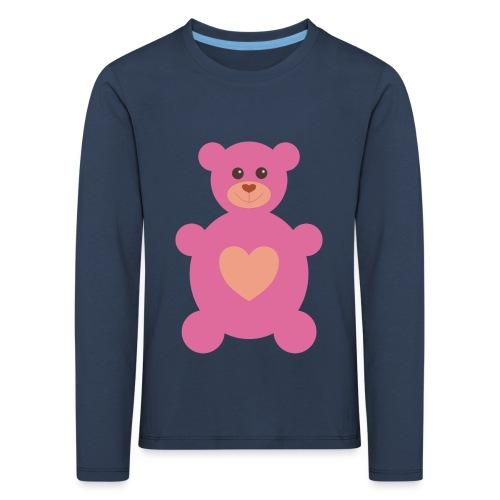 Bärchen rosa - Kinder Premium Langarmshirt