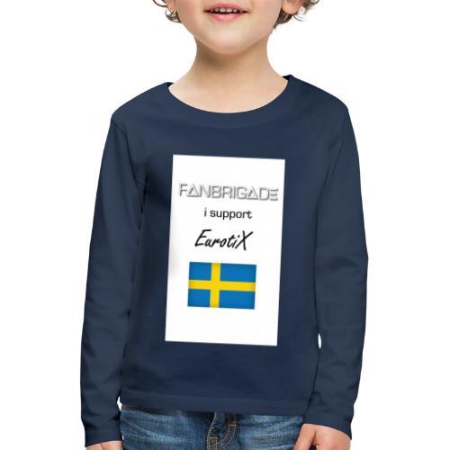 Fanbrigade - Børne premium T-shirt med lange ærmer