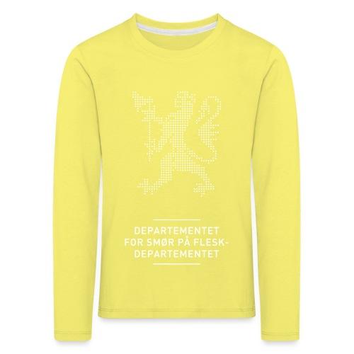 Departementsdepartementet (fra Det norske plagg) - Premium langermet T-skjorte for barn