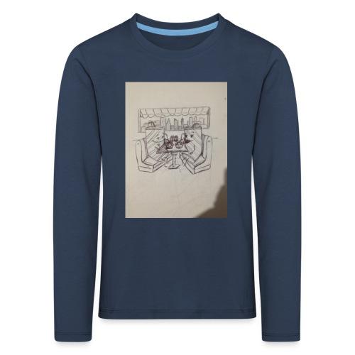 Compartimos juntos - Camiseta de manga larga premium niño