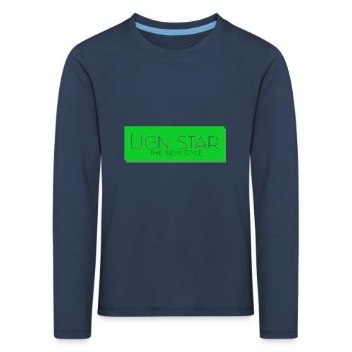 Untitled 3 png - Børne premium T-shirt med lange ærmer