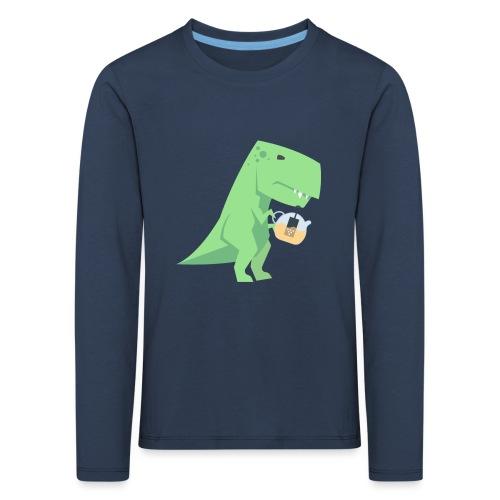 Tea-Saurus - Kinder Premium Langarmshirt