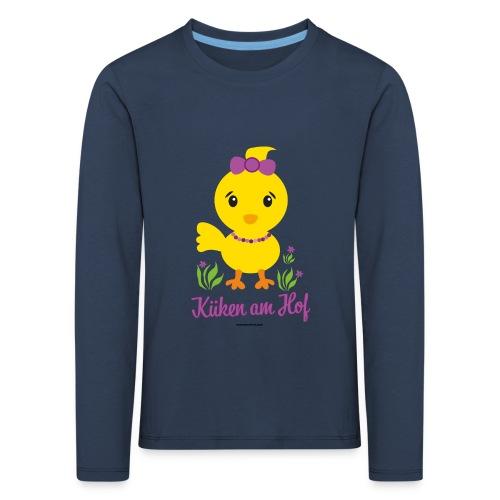 Ostern für kleine Mädchen - Kinder Premium Langarmshirt
