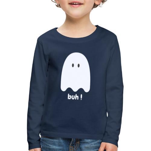 Buh ! - Børne premium T-shirt med lange ærmer