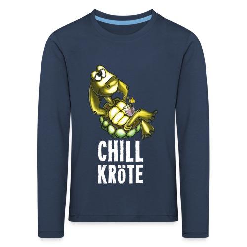 Chillkröte - Kinder Premium Langarmshirt
