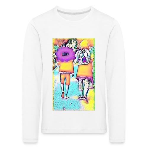 T-shirt wants To escape - T-shirt manches longues Premium Enfant