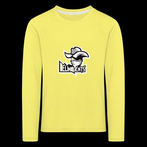 Delinquents TriColor - Børne premium T-shirt med lange ærmer