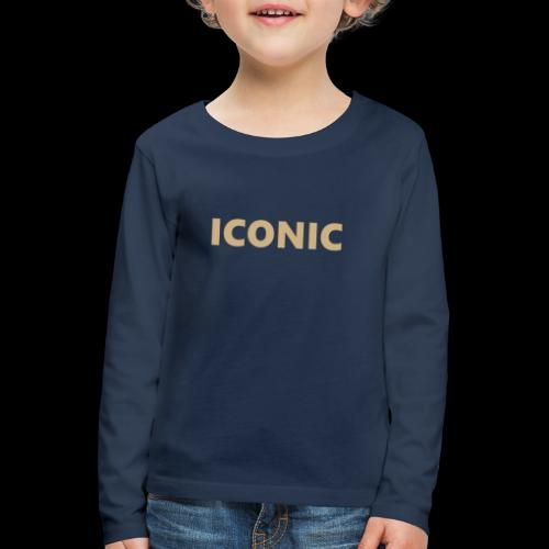 ICONIC [Cyber Glam Collection] - Kids' Premium Longsleeve Shirt