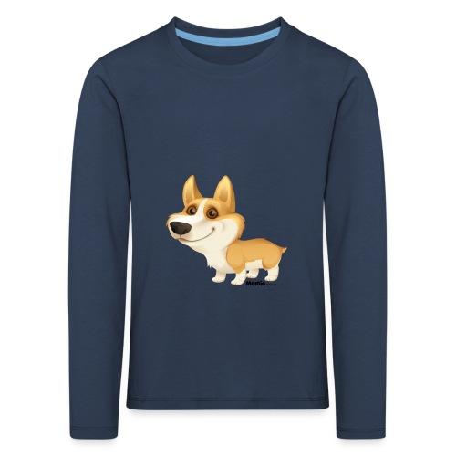 Corgi - Kinder Premium Langarmshirt