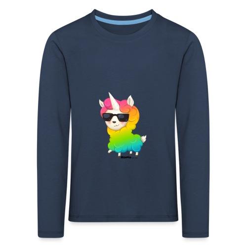 Regenboog animo - Kinderen Premium shirt met lange mouwen