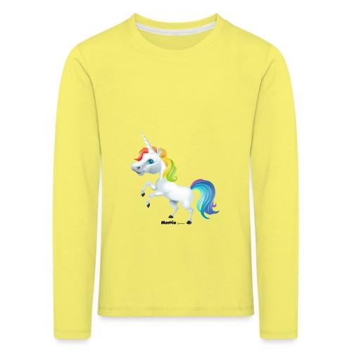 Regenboog eenhoorn - Kinderen Premium shirt met lange mouwen