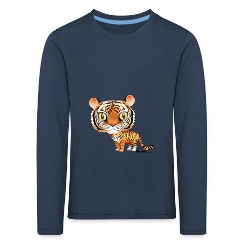 Tijger - Kinderen Premium shirt met lange mouwen