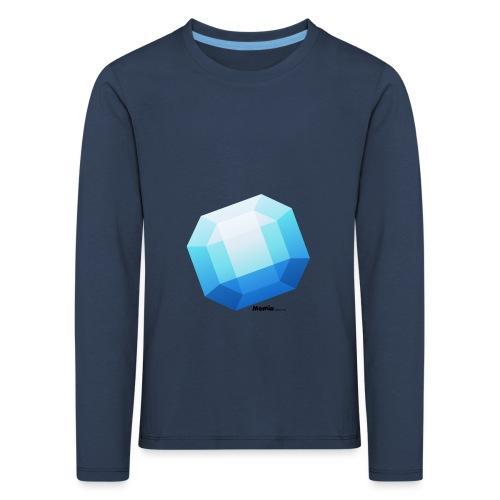 Saffier - Kinderen Premium shirt met lange mouwen