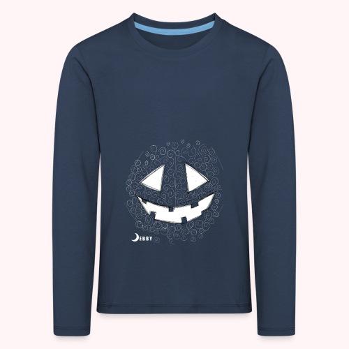 PUMPKIN FACE - 🍂FALL COLLECTION by DEBBY🍁 - Maglietta Premium a manica lunga per bambini