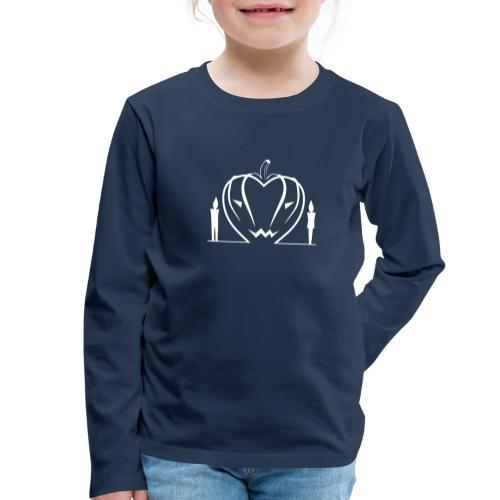 Non aver paura dell'amore... WHITE - Maglietta Premium a manica lunga per bambini