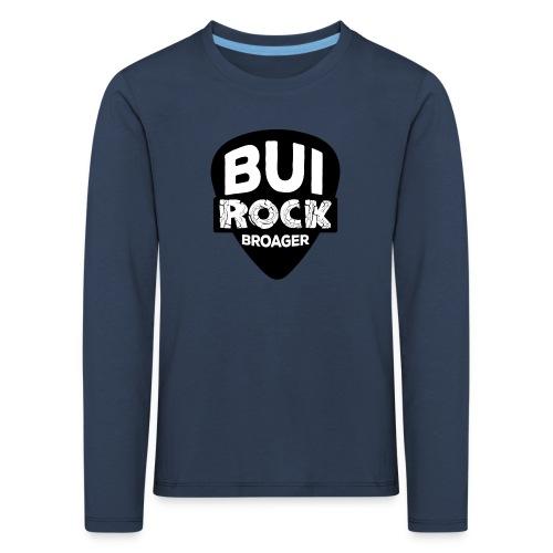 BUI ROCK - Børne premium T-shirt med lange ærmer