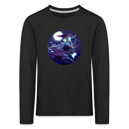 Witch in the Night - Maglietta Premium a manica lunga per bambini