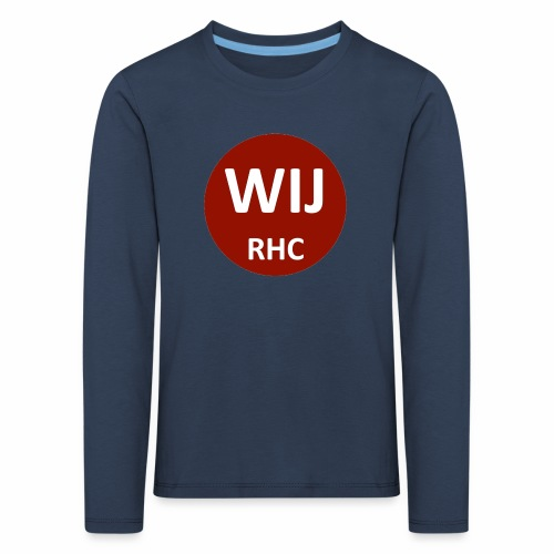WIJ RHC - Kinderen Premium shirt met lange mouwen