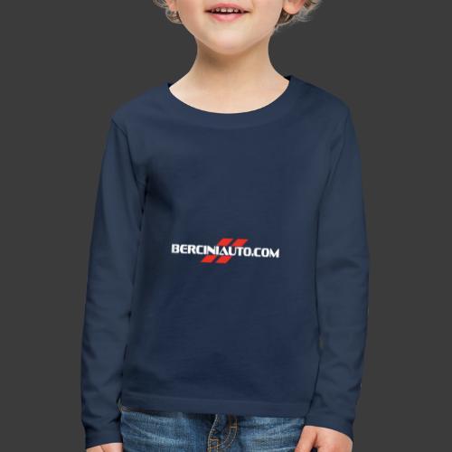berciniauto - Maglietta Premium a manica lunga per bambini