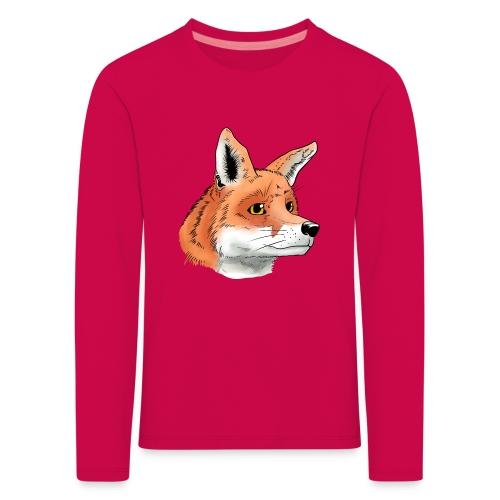 Fuchs - Kinder Premium Langarmshirt