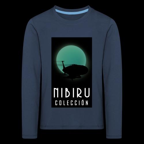 colección Nibiru - Camiseta de manga larga premium niño