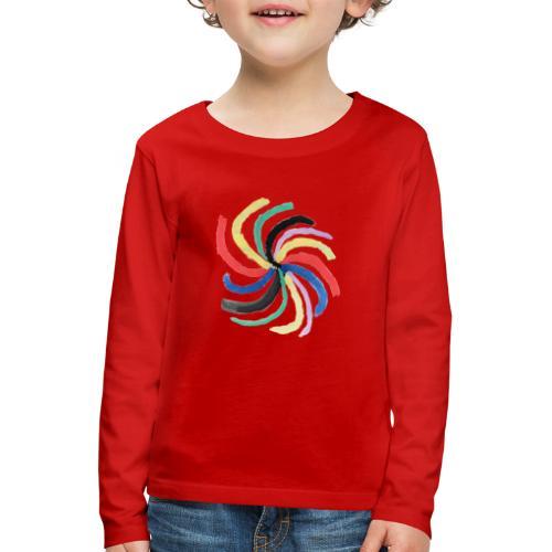 Galaxie - Kinder Premium Langarmshirt