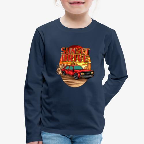 Sunset Drive - T-shirt manches longues Premium Enfant