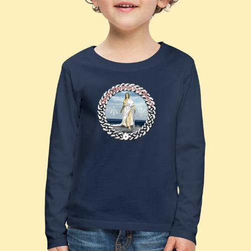 Ordre Druidique de Dahut Logo - T-shirt manches longues Premium Enfant