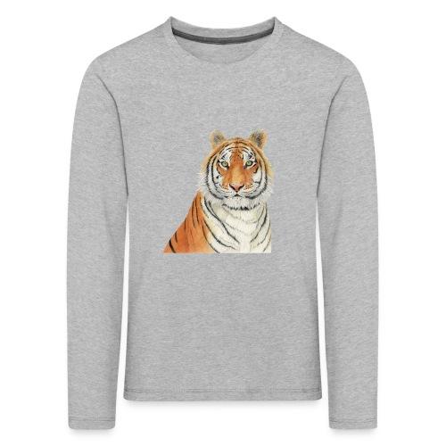 Tigre,Tiger,Wildlife,Natura,Felino - Maglietta Premium a manica lunga per bambini