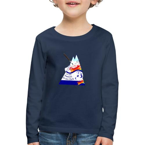 Logo colori - Maglietta Premium a manica lunga per bambini