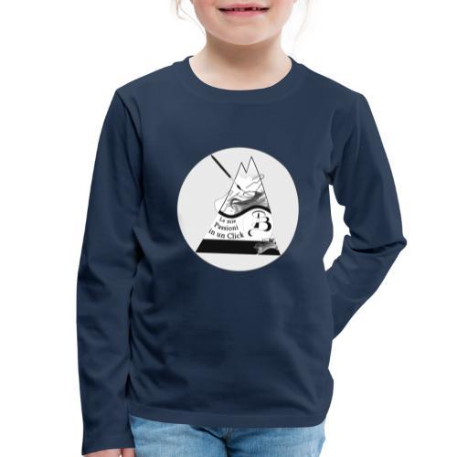 Logo BN - Maglietta Premium a manica lunga per bambini
