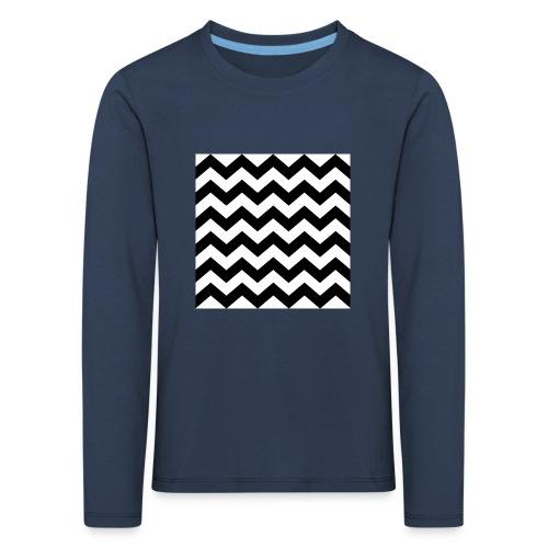 zigzag png - T-shirt manches longues Premium Enfant