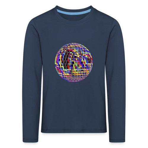Boule à facettes psychédélique - T-shirt manches longues Premium Enfant